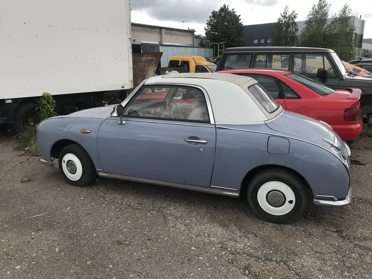 1990 Nissan Figaro real JDM runs looks great For Sale (picture 4 of 6)