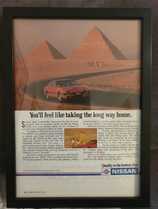 Nissan 300ZX Advert Original
