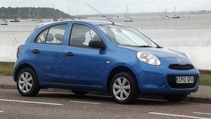 2012 NISSAN MICRA VISIA PURE DRIVE EDT 1.2 5 DR HATCH 13000 miles For Sale