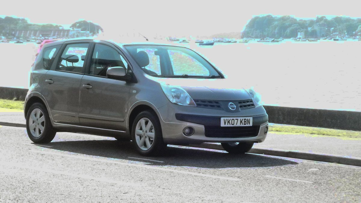 2007 NISSAN NOTE SE 1.6 AUTOMATIC 5 DOOR MPV SOLD (picture 1 of 6)