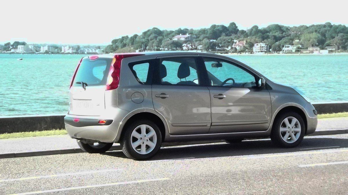 2007 NISSAN NOTE SE 1.6 AUTOMATIC 5 DOOR MPV SOLD (picture 2 of 6)