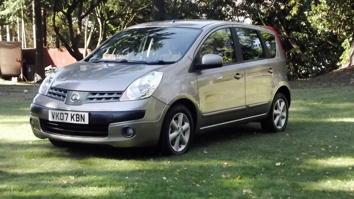 2007 NISSAN NOTE SE 1.6 AUTOMATIC 5 DOOR MPV SOLD (picture 3 of 6)