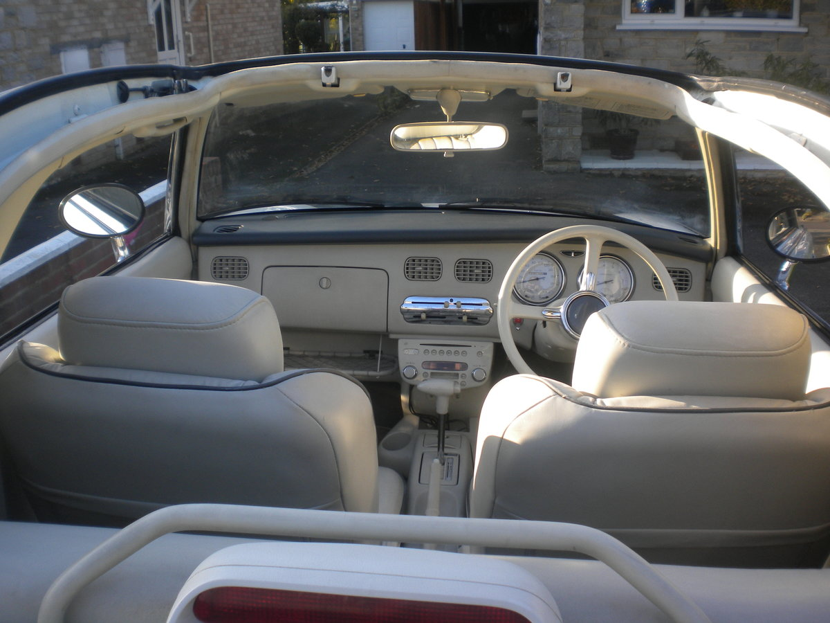 1991 Nissan figaro in white For Sale (picture 3 of 6)