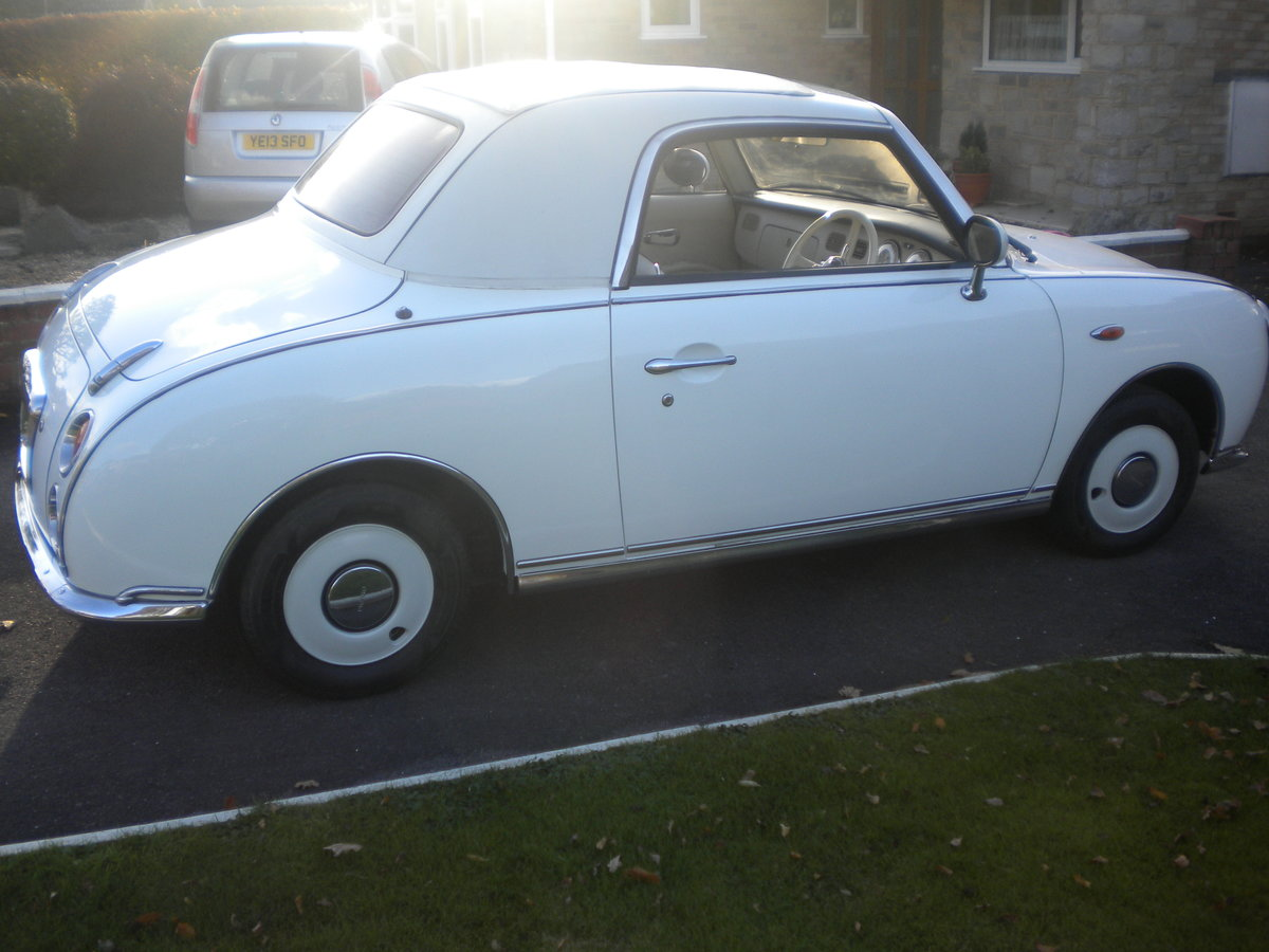 1991 Nissan figaro in white For Sale (picture 4 of 6)