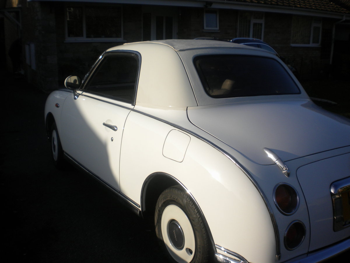 1991 Nissan figaro in white For Sale (picture 5 of 6)