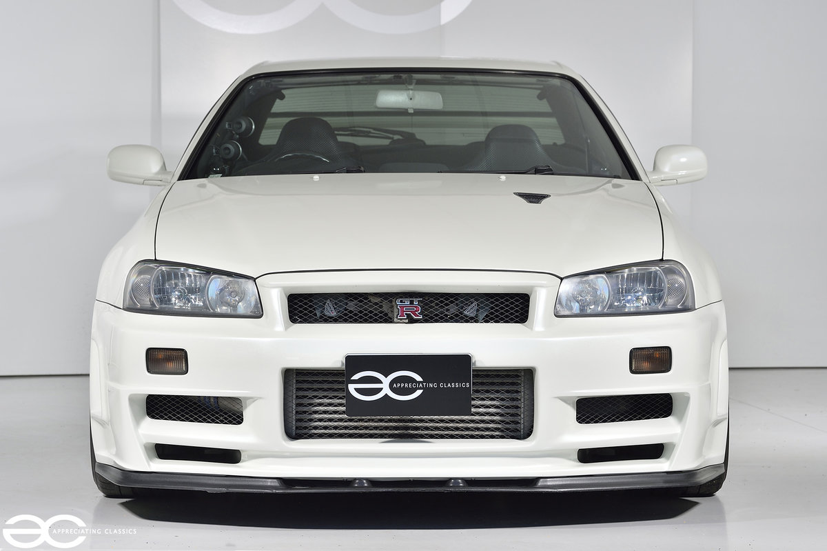 2002 Beautiful & Rare R34 GTR V Spec II Nur - 47k Miles For Sale (picture 1 of 6)