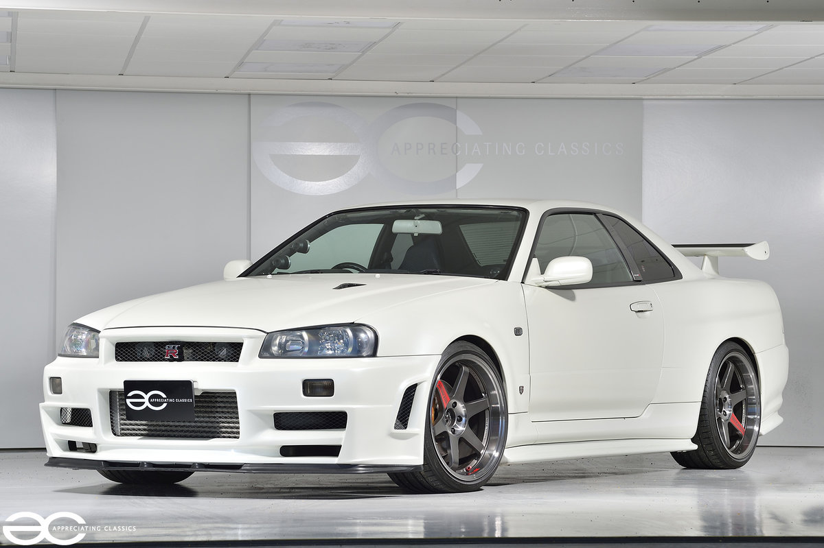 2002 Beautiful & Rare R34 GTR V Spec II Nur - 47k Miles For Sale (picture 2 of 6)