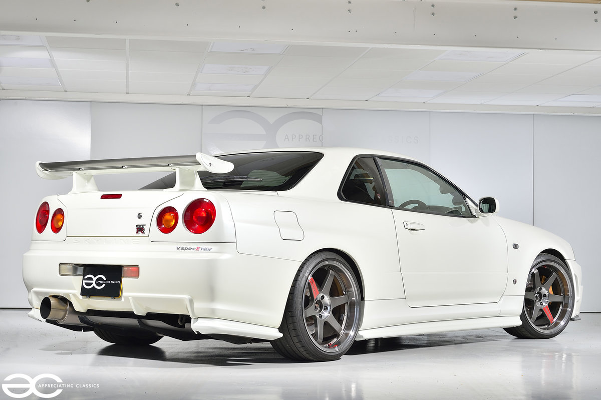 2002 Beautiful & Rare R34 GTR V Spec II Nur - 47k Miles For Sale (picture 3 of 6)