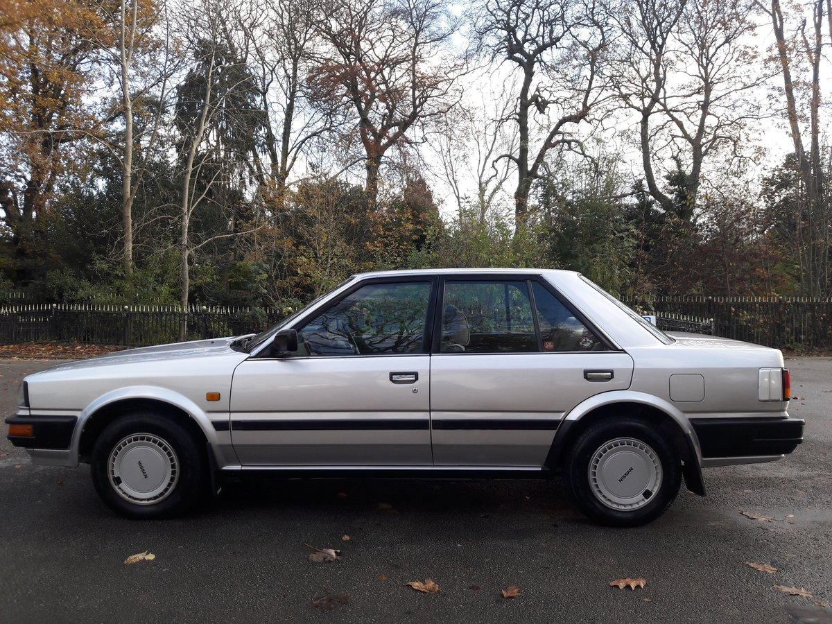 1987 E Reg Nissan Bluebird 1.6 LX, Saloon, 83k Miles,  SOLD (picture 3 of 6)