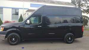 2012 Nissan NV Cargo 2500 HD S Work Van Go Black AC $12.9k