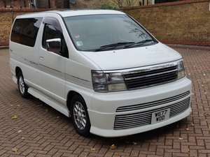 2000 Nissan elgrand 3.3i v6 auto rider 7 seater  For Sale