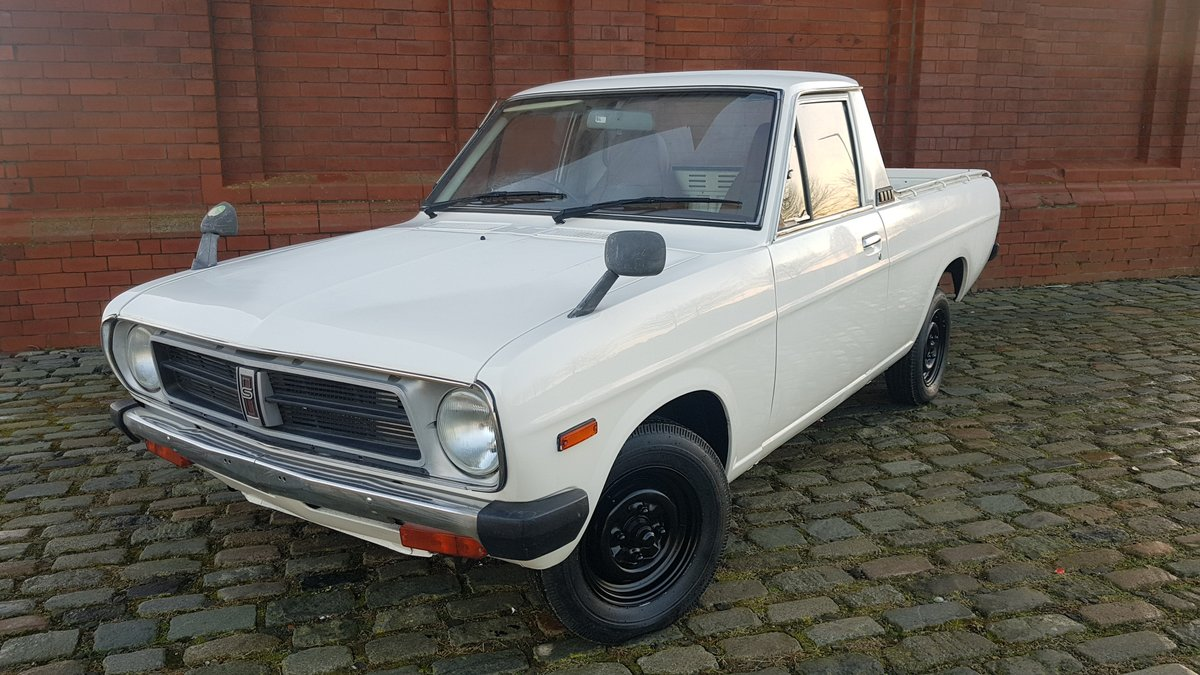 1987 SUNNY TRUCK PICK UP RETRO RIDE JDM UTE ONLY 63000 MILES For Sale (picture 1 of 5)