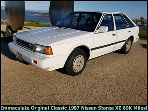 1987 Nissan Stanza XE HatchBack  Auto 69k miles Ivory $5.9k For Sale