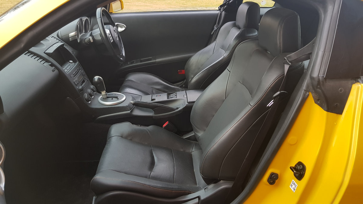 2005 NISSAN 350Z 3.5 FAIRLADY Z COUPE Z33 VERSION T * LEATHER  For Sale (picture 3 of 6)