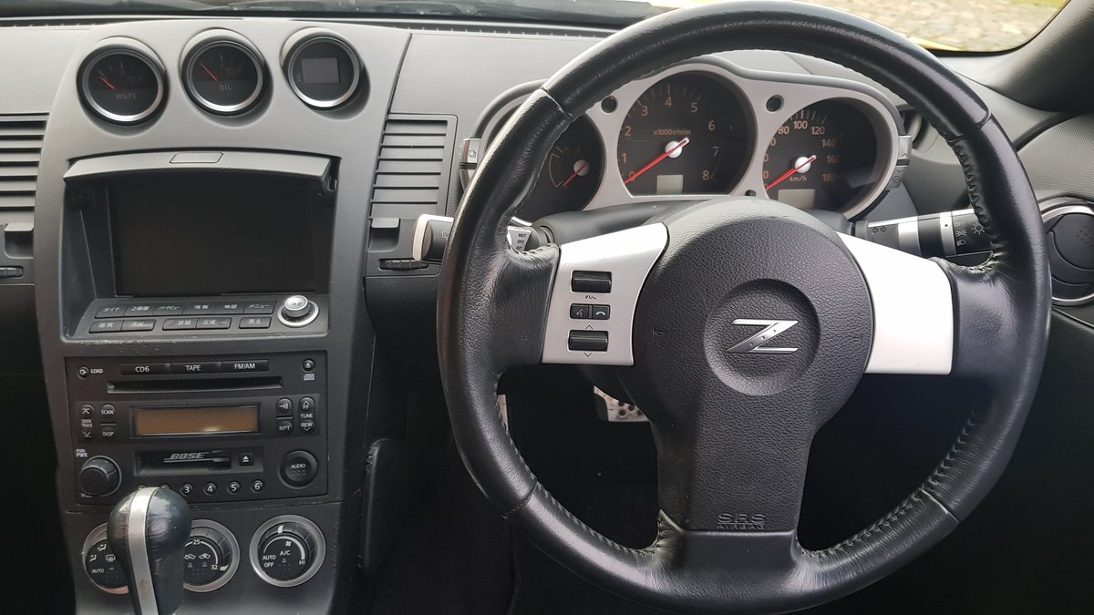 2005 NISSAN 350Z 3.5 FAIRLADY Z COUPE Z33 VERSION T * LEATHER  For Sale (picture 4 of 6)
