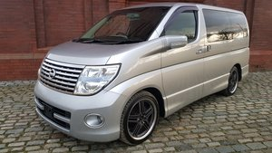 2006 NISSAN ELGRAND  E51 3.5 4X4 * HIGHWAY STAR HALF LEATHER