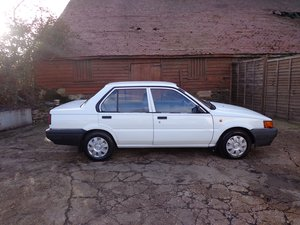 1990 Nissan sunny only 1 owner