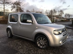 2009 Fresh Import Nissan Cube 1.5 Z12 V Selection Extronix