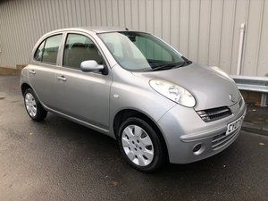 2007 07 NISSAN MICRA 1.2 SPIRITA 5D 80 BHP AUTOMATIC For Sale