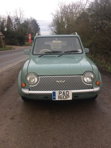 NISSAN PAO 1.0 AUTO LESS THAN 56,000 miles