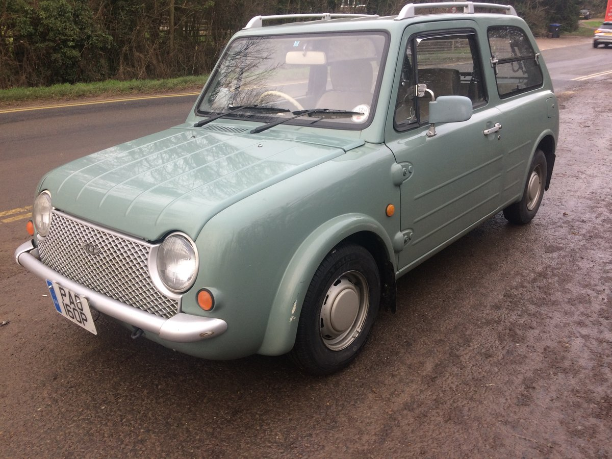 1990 NISSAN PAO 1.0 AUTO LESS THAN 56,000 miles For Sale (picture 2 of 6)