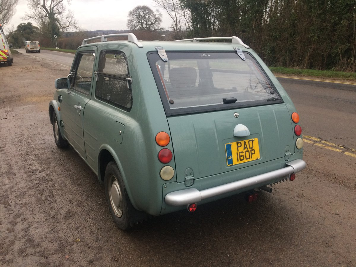1990 NISSAN PAO 1.0 AUTO LESS THAN 56,000 miles For Sale (picture 4 of 6)
