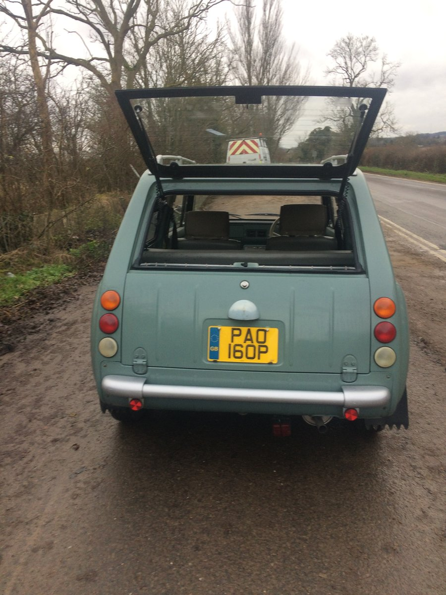 1990 NISSAN PAO 1.0 AUTO LESS THAN 56,000 miles For Sale (picture 5 of 6)