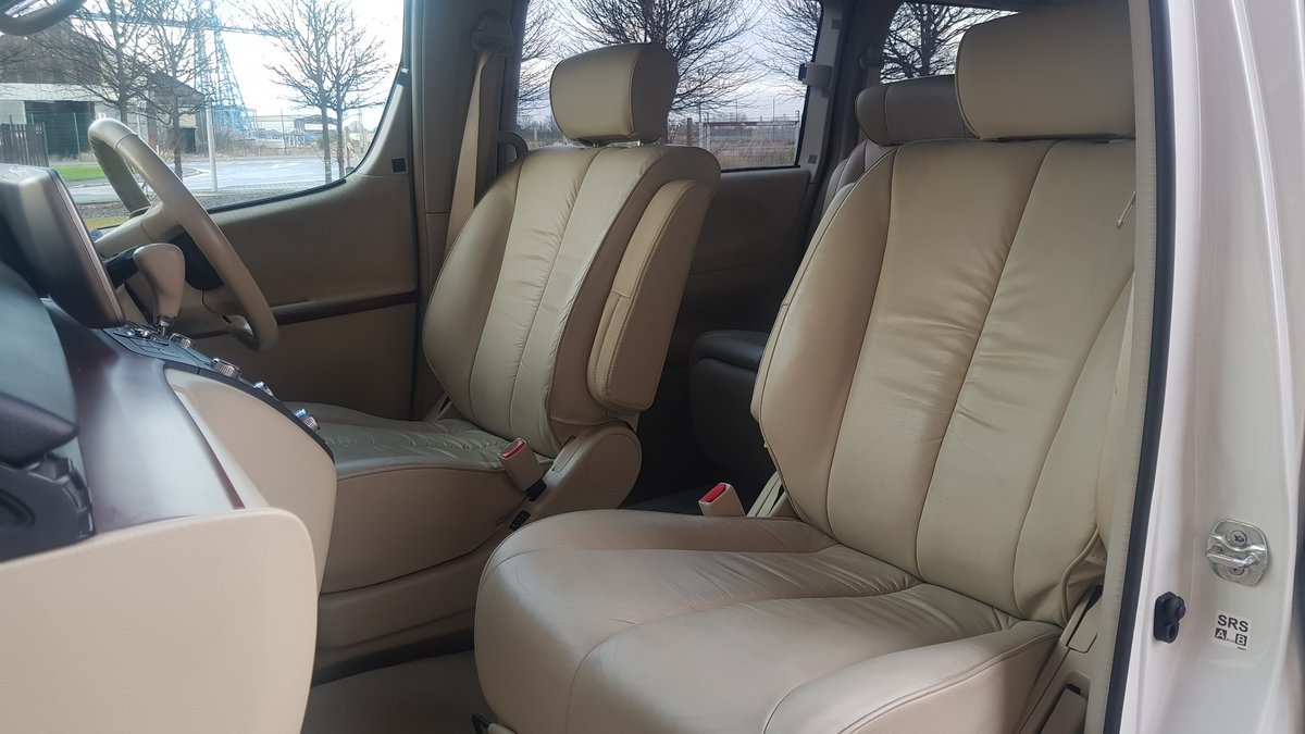 2004 NISSAN ELGRAND 3.5 X AUTO 8 SEATER LEATHER * BUSINESS SEATS  For Sale (picture 3 of 6)