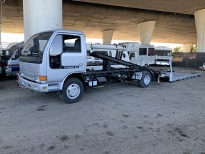 1992 Nissan Condor Zero Degree Flat Bed Roll Back Tow Truck  For Sale