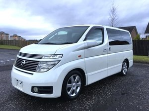 2002 FRESH IMPORT NISSAN ELGRAND HIGHWAY STAR 4WD AUTO 3.5 V For Sale