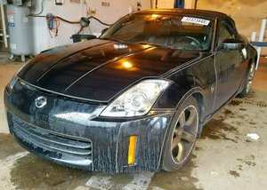 2006 Nissan 350Z Roadster Convertible All Black Driver $2.9k For Sale