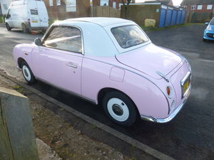 1991 Pink Nissan Figaro