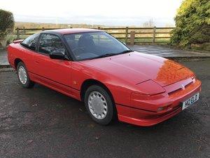1991 Nissan 200SX Turbo 8,981 miles at ACA 25th January