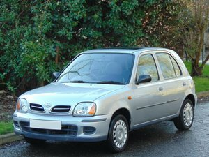 2000 Nissan Micra 1.0 S Auto.. Only 38,900 Genuine Miles.. FSH..