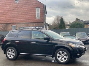 2006 NISSAN MURANO 3.5 V6 LUXURY AUTOMATIC 4WD - LEFT HAND DRIVE
