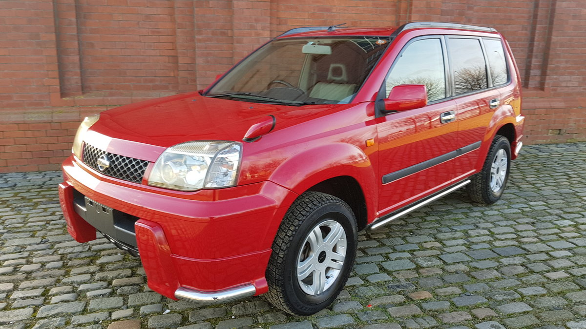 2002 NISSAN X-TRAIL 2.0 S 4X4 MANUAL * VERY LOW MILEAGE * For Sale (picture 1 of 6)