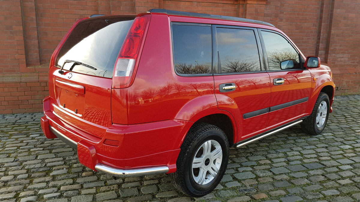 2002 NISSAN X-TRAIL 2.0 S 4X4 MANUAL * VERY LOW MILEAGE * For Sale (picture 2 of 6)
