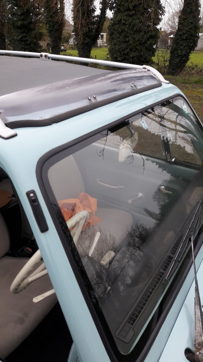 1989 Original Auto, Canvas Roof PAO. Clean and tidy For Sale (picture 5 of 6)