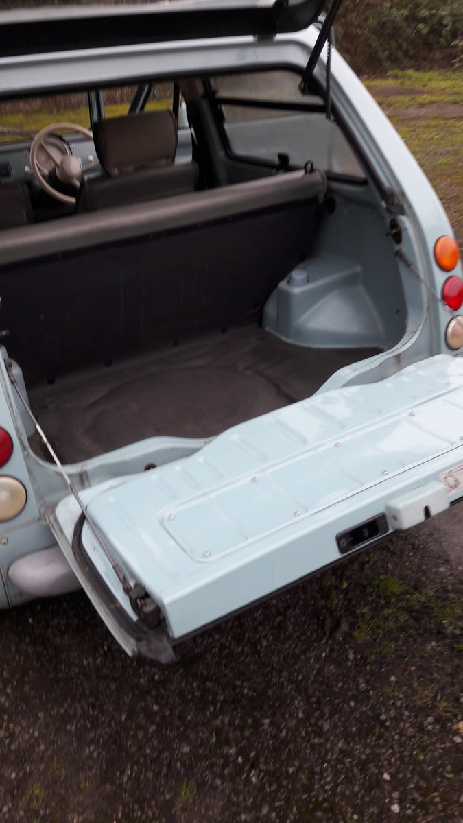 1989 Original Auto, Canvas Roof PAO. Clean and tidy For Sale (picture 6 of 6)