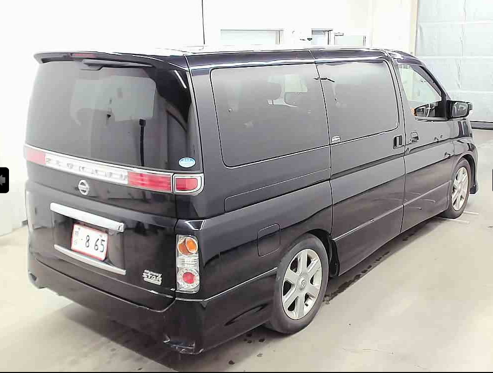 2007 NISSAN ELGRAND 3.5 HIGHWAY STAR MYSTIC BLACK 4X4 8 SEATER * For Sale (picture 2 of 6)