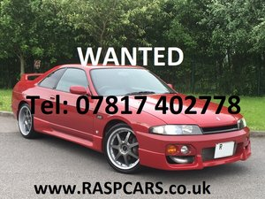 1998 NISSAN 200SX / SKYLINE MODELS  WANTED