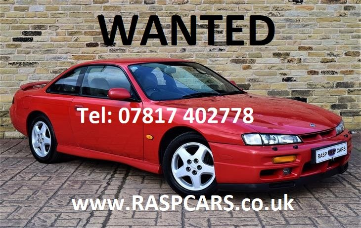 1998 NISSAN 200SX / SKYLINE MODELS  WANTED For Sale (picture 2 of 4)