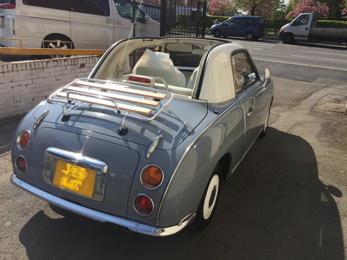 1991 Nissan Figaro Excellent Condition, low mileage For Sale (picture 4 of 6)