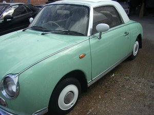 1991 Nissan Figaro Excellent Con Current Restoring