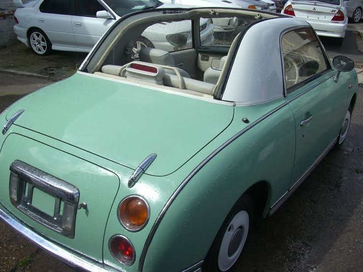 1991 Nissan Figaro Excellent Con Current Restoring For Sale (picture 4 of 6)