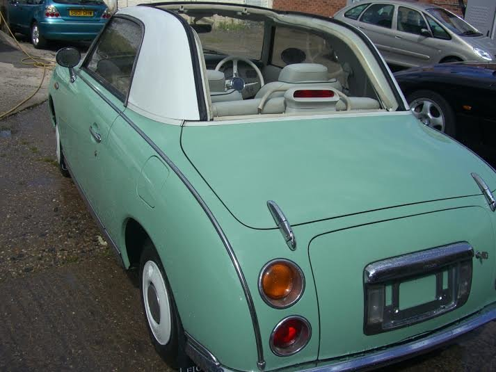 1991 Nissan Figaro Excellent Con Current Restoring For Sale (picture 5 of 6)