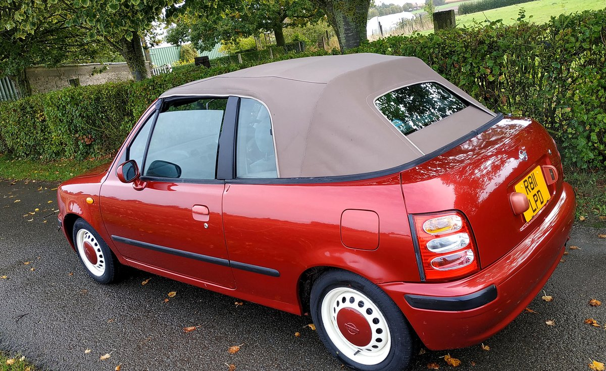 1997 Nissan Micra March K11 Cabriolet  Not Pao Figaro  For