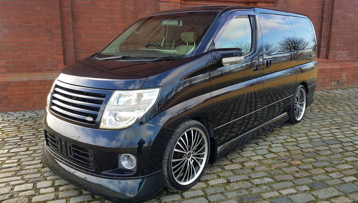 2005 NISSAN ELGRAND ELGRAND 3.5 X CUSTOM KENSTYLE  SOLD (picture 1 of 6)