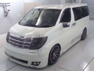 2006 NISSAN ELGRAND RARE CUSTOM 2.5 HIGHWAY STAR * LOW MILEAGE