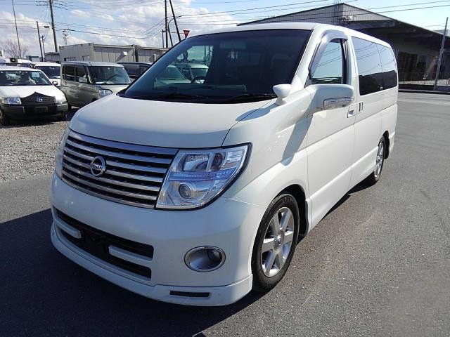NISSAN ELGRAND 2007 3.5 HIGHWAY STAR * BLACK LEATHER SEATS * SOLD (picture 1 of 6)